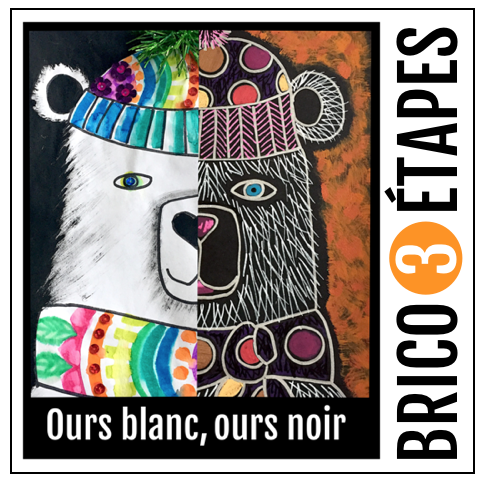 Ours blanc noir - Ours blanc, ours noir
