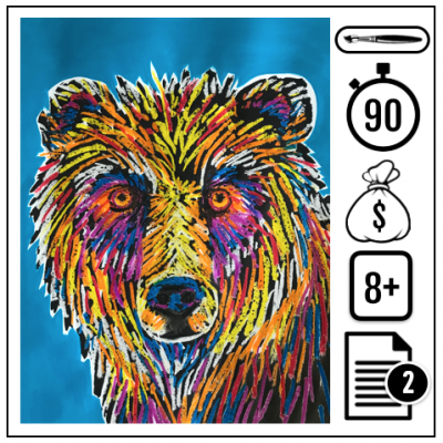 Grizzly funky 400x400 - Grizzly funky